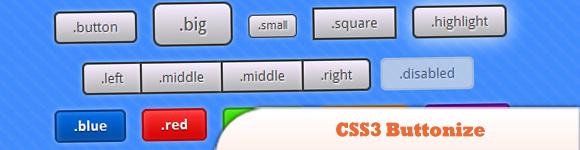 CSS3 Buttonize Framework