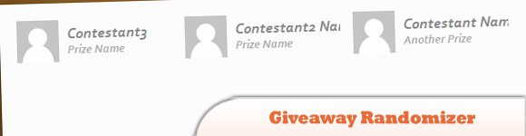 Giveaway Randomizer App