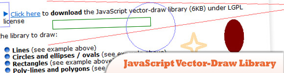 JavaScript Vector-Draw Library