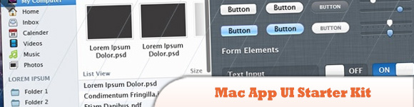 Mac App UI Starter Kit