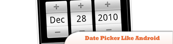 Date Picker Like Android