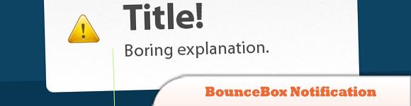 BounceBox Notification