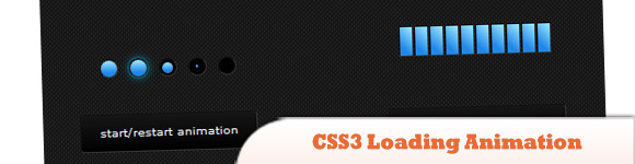 CSS3 Loading Animation