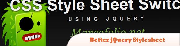Better jQuery Stylesheet Switcher
