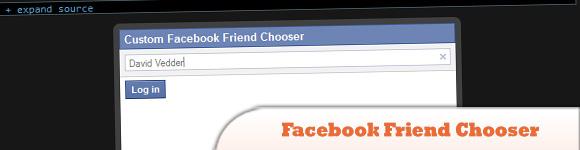 Facebook Friend Chooser