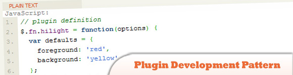 Plugin Development Pattern