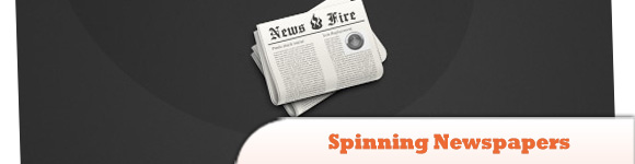 Spinning Newspapers