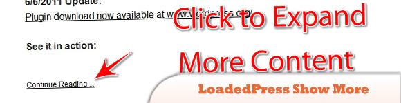 LoadedPress Show More