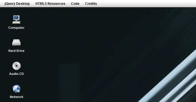 jquery-desktop