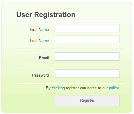 validating forms using php to connect