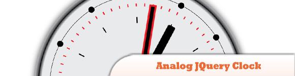 Analog JQuery Clock