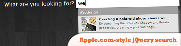 Apple.com-style jQuery search