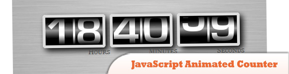 JavaScript Animated Counter