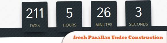 fresh Parallax Under Construction