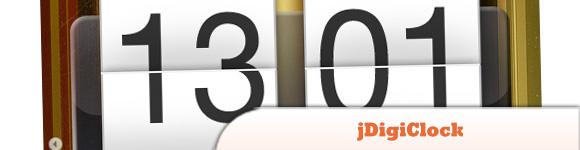 jDigiClock