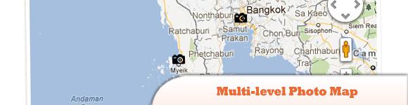 Multi-level Photo Map