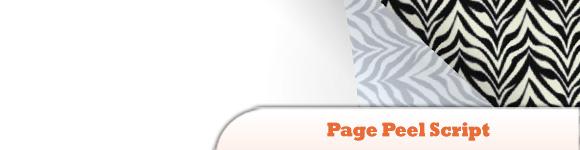 jQuery Page Peel Script