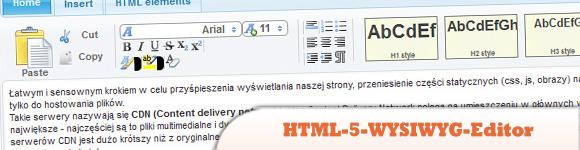 HTML-5-WYSIWYG-Editor