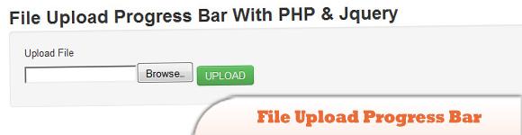 File Upload Progress Bar