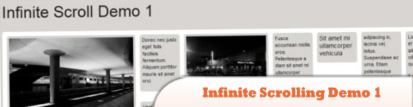 Infinite Scrolling Demo 1