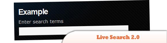 Live Search 2.0