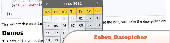Zebra_Datepicker