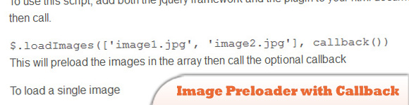 jQuery Image preloader with callback