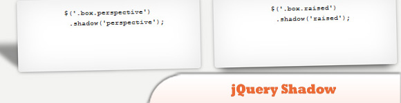 jQuery Shadow