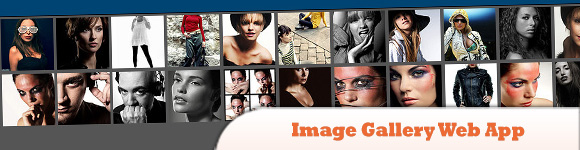 jQuery Mobile Image Gallery Web App