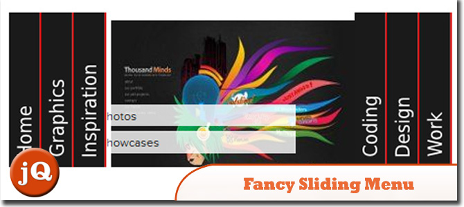 Fancy Sliding Menu With jQuery