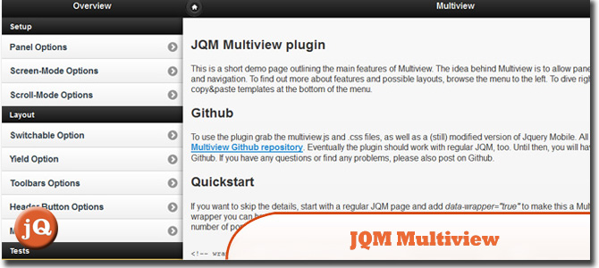 12+ jQuery Mobile Layout Plugins and Examples — SitePoint