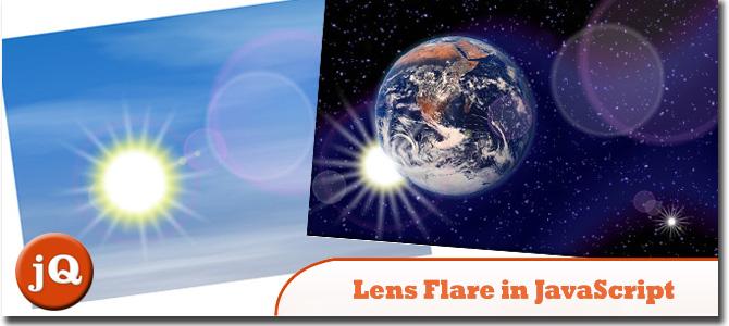 Lens Flare in JavaScript