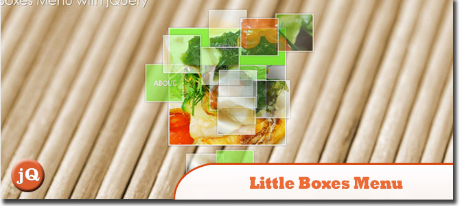 Little Boxes Menu