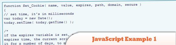JavaScript Examples 1