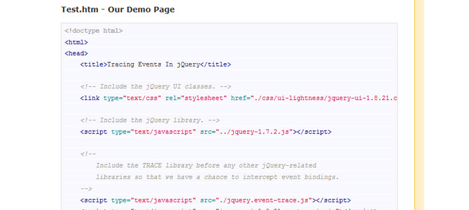 Tracing Event Binding And Event Triggering in jQuery