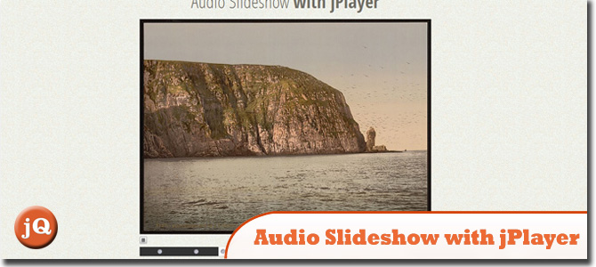 Audio Slideshow with jPlayer