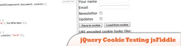 jQuery Cookie Testing jsFiddle