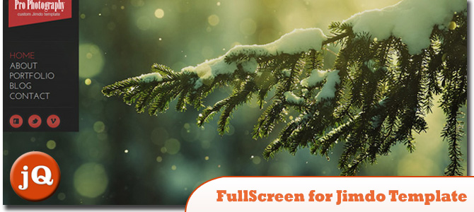 jQuery FullScreen Plugin for custom Jimdo template