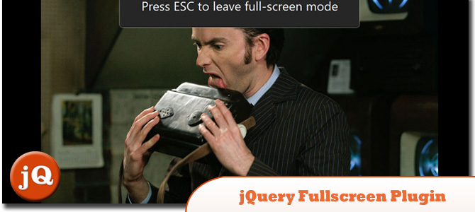 jQuery Fullscreen Plugin
