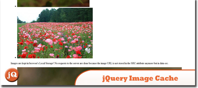 jQuery Image Cache
