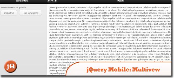 jquery-mobile - plugin: multiview