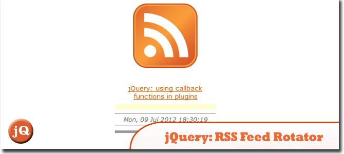 RSS Feed Rotator