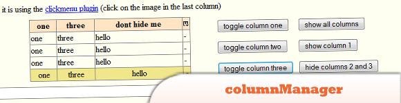 columnManager plugin
