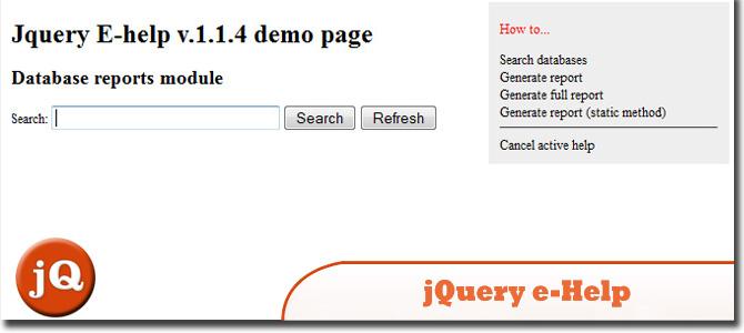 jQuery E-Help