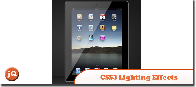 CSS3 Lighting Effects