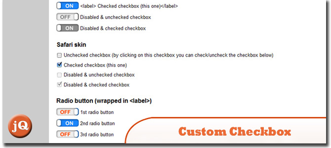 Custom Checkbox