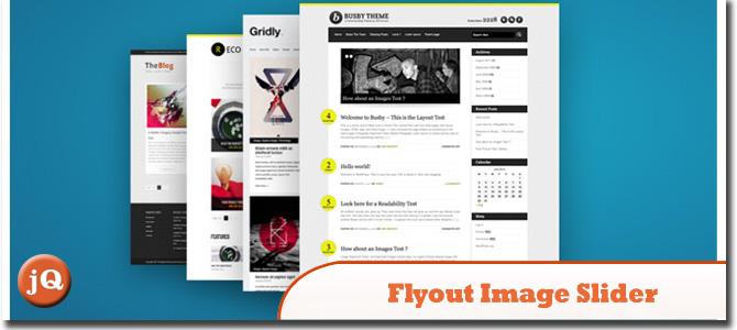 Flyout Image Slider