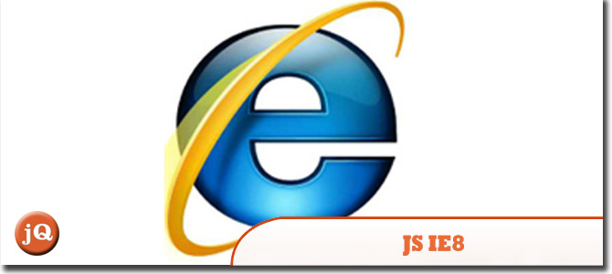 JavaScript in Internet Explorer 8