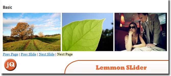 Lemmon Slider
