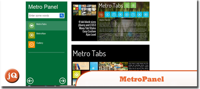 MetroPanel